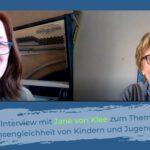 Bild mit Jane von Klee links und Korina Dielschneider rechts