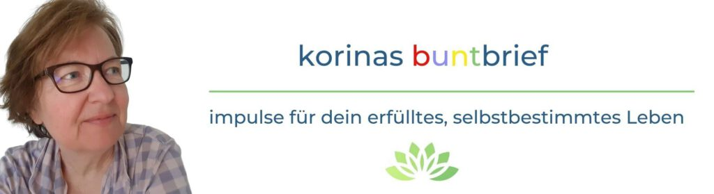 Banner für korinas buntbrief